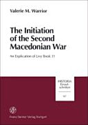 Pdf The Initiation of the Second Macedonian War