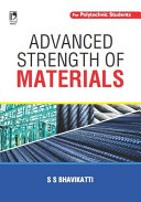 Pdf Advanced Strength of Materials (For Polytechnic Students) Telecharger