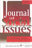 Volume 56 Of Journal Of Social Issues