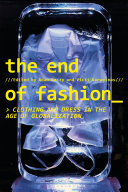 Pdf The End of Fashion Telecharger