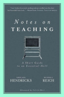 Notes on Teaching
