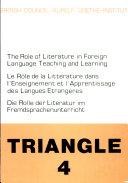 Die Rolle der Literatur im Fremdsprachenunterricht
