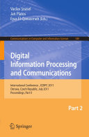 Digital Information Processing and Communications  Part II