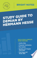 Study Guide to Demian by Hermann Hesse