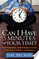 Can I Have 5 Minutes of Your Time