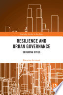 Resilience and Urban Governance Book