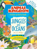 Animal Kingdom Sticker Activity Book  Jungles and Oceans