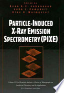 Particle Induced X Ray Emission Spectrometry Pixe  Book PDF