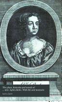 The plays  histories and novels of     mrs  Aphra Behn  With life and memoirs