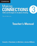 Making Connections Level 3 Teacher s Manual