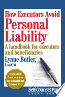 How Executors Avoid Personal Liability