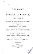 A History of Livingston County, New York