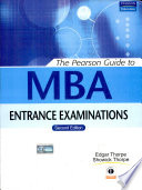 The Pearson Guide To Mba Entrance Examinations, 2/E