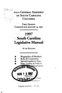South Carolina Legislative Manual