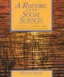 A Rhetoric for the Social Sciences