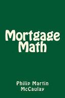 Mortgage Math