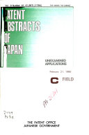 Patents Abstracts of Japan