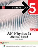 5 Steps to a 5: AP Physics 1: Algebra-Based 2020