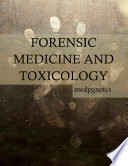 Forensic Medicine And Toxicology Book PDF