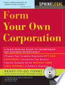 Form Your Own Corporation PDF