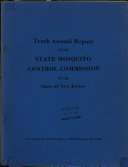 Annual Report of the State Mosquito Control Commission of the State of New Jersey