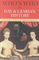 Who s who in Gay and Lesbian History