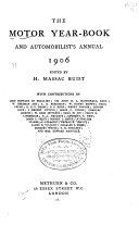 Motor Year Book And Automobilist S Annual