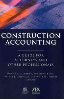 Construction Accounting Book