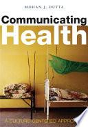 Communicating Health Book