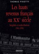 Pdf Les hauts revenus en France au XXème siècle Telecharger