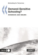 Schooling for Tomorrow Demand-Sensitive Schooling? Evidence and Issues Pdf/ePub eBook