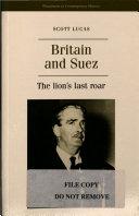 Britain and Suez
