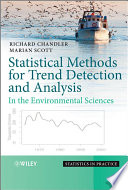Statistical Methods For Trend Detection And Analysis In The Environmental Sciences Book PDF