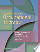 Willard And Spackman S Occupational Therapy Book