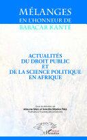 Mélanges en l'honneur de Babacar Kanté Pdf/ePub eBook