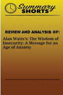 Review and Analysis of Alan Watts Book