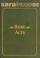 Bare Acts Book