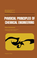 Pdf Physical Principles of Chemical Engineering