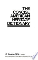 The Concise American Heritage Dictionary