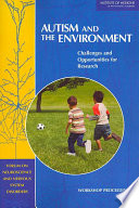 Autism and the Environment Book