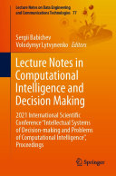 Lecture Notes in Computational Intelligence and Decision Making