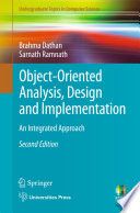 Object Oriented Analysis  Design and Implementation