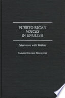 Puerto Rican Voices in English