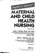 Pdf Ingalls & Salerno's Maternal and Child Health Nursing