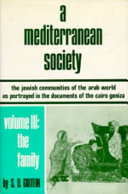 A Mediterranean Society  The family