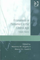 Economists In Parliament In The Liberal Age 1848 1920