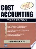 Cost Accounting  3E Book PDF