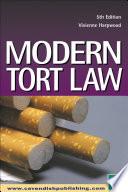 Modern Tort Law 6 e