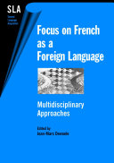 Pdf Focus on French as a Foreign Language Telecharger