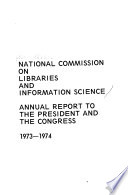 Annual Report - National Commission on Libraries and Information Science